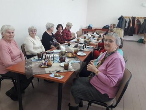 Spotkanie czytelniczek – seniorek